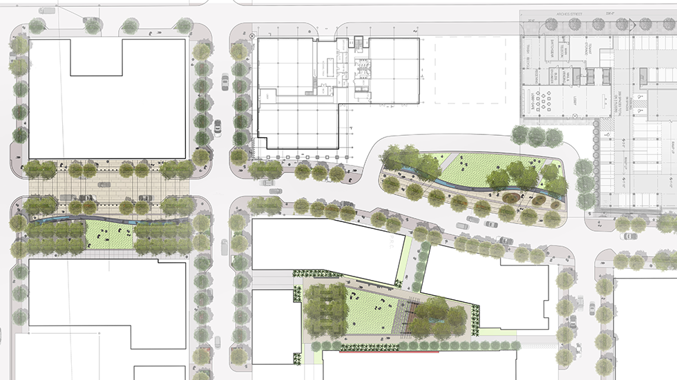 water campus open space master plan